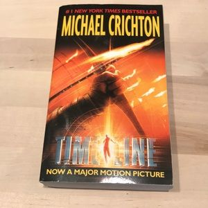 Timeline by Michael Crichton (paperback)
